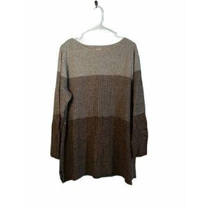 GUC Faded Glory Plus Size Fuzzy Pullover Sweater